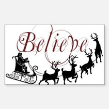 Believe Sticker (Rectangle)