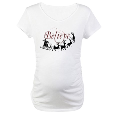 Believe Maternity T-Shirt