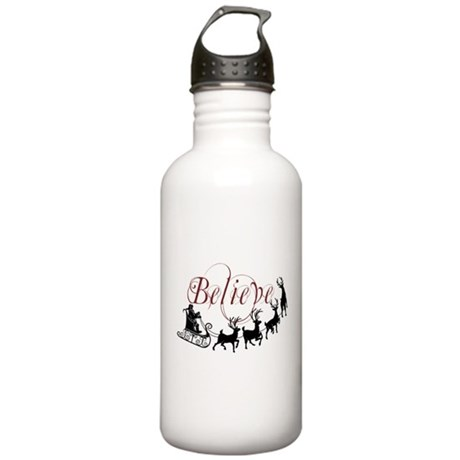Believe Stainless Water Bottle 1.0L