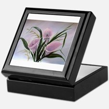 calla lilies Keepsake Box