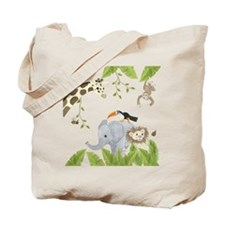 Jungle Animal Tote Bag