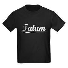 Tatum, Vintage T