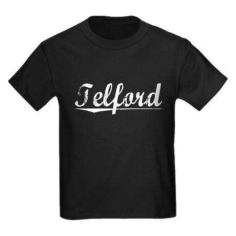 Telford, Vintage Kids Dark T-Shirt