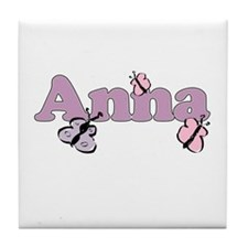 Anna Butterfly Tile Coaster