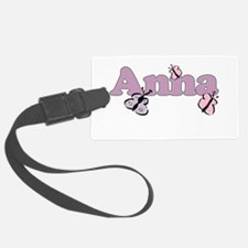 Anna Butterfly Luggage Tag