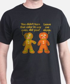 Funny Gingerbread Fake Tan Christmas T-Shirt