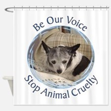 Be Our Voice 77 Shower Curtain