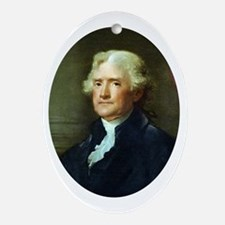 Thomas Jefferson Oval Ornament