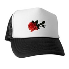 Victorian Rose Trucker Hat