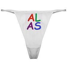 Alas! Classic Thong