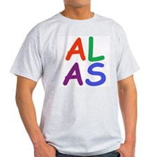 Alas! Ash Grey T-Shirt