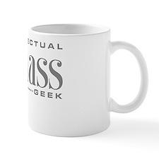 Badass Geek Gray Mug