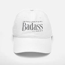 Badass Geek Gray Baseball Baseball Cap