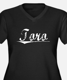 Toro, Vintage Women's Plus Size V-Neck Dark T-Shir