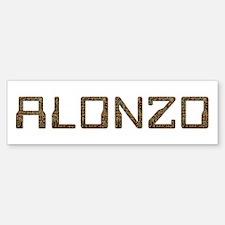 Alonzo Circuit Bumper Bumper Bumper Sticker