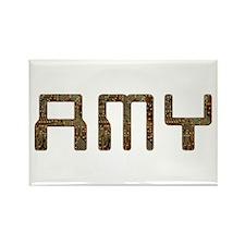 Amy Circuit Rectangle Magnet