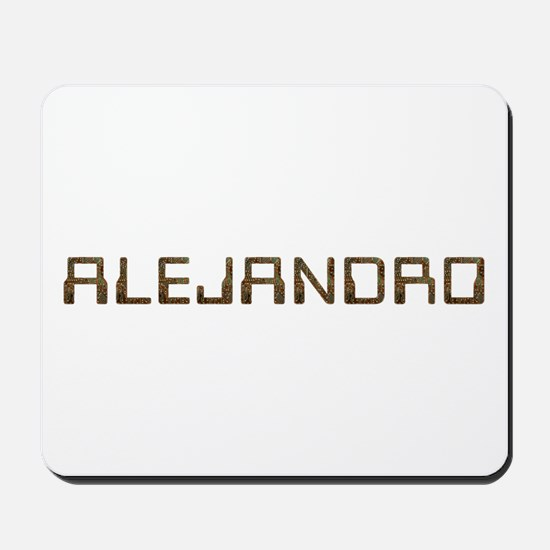 Alejandro Circuit Mousepad
