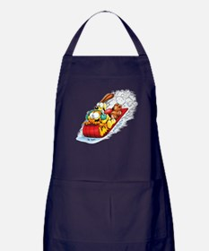 Sledding Fun! Apron (dark)