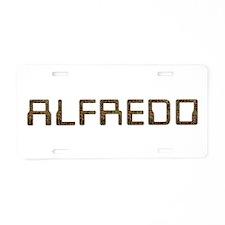 Alfredo Circuit Aluminum License Plate
