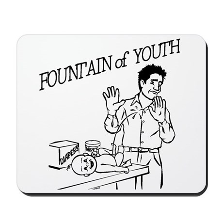 """Fountain of Youth"" Mousepad"