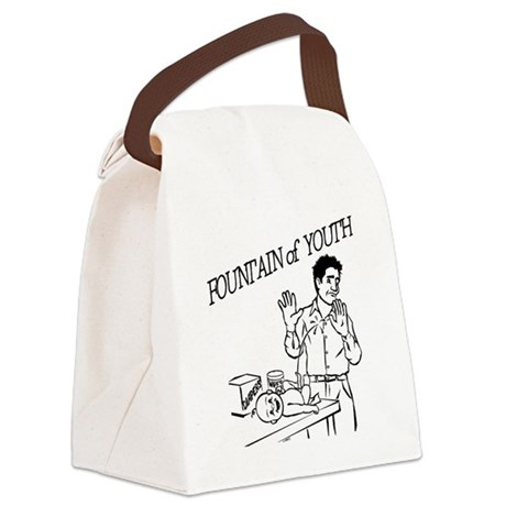 """""""Fountain of Youth"""" Canvas Lunch Bag"""