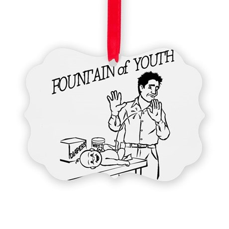 """""""Fountain of Youth"""" Picture Ornament"""