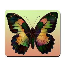 Luminous Butterfly Mousepad