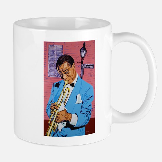 Satchmo on Bourbon Street Mug