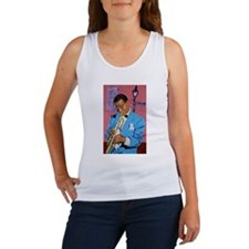 Satchmo on Bourbon Street Women's Tank Top
