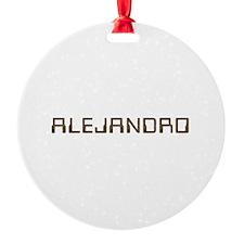 Alejandro Circuit Ornament