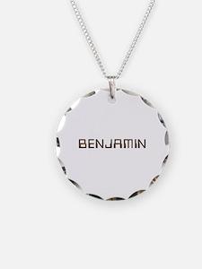 Benjamin Circuit Necklace Circle Charm