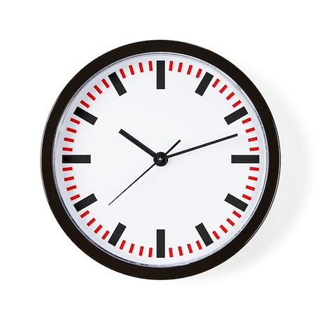 GERMAN Train Station Clock