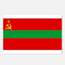 Transnistria - National Flag - Current Postcards (