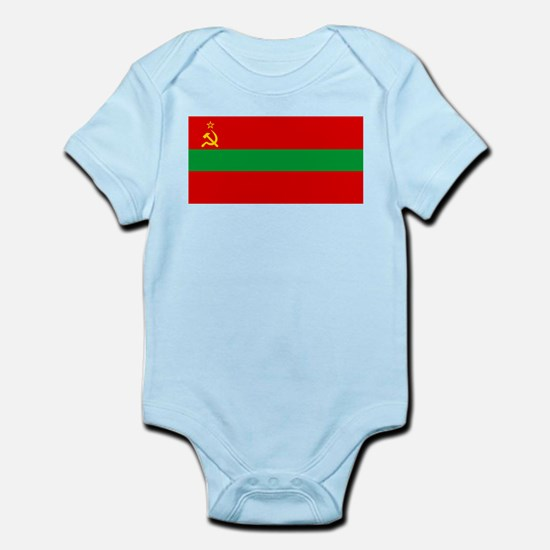 Transnistria - National Flag - Current Infant Body
