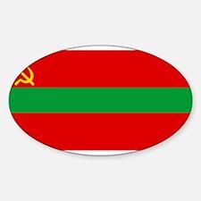 Transnistria - National Flag - Current Decal