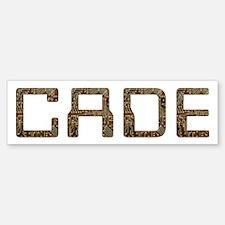 Cade Circuit Bumper Bumper Bumper Sticker