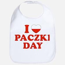 I Heart Paczki Day Bib