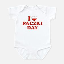I Heart Paczki Day Infant Bodysuit