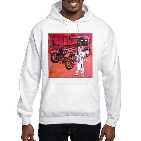 Classic car mascot Hooded Sweatshirt