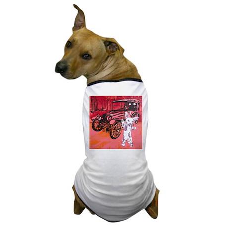 Classic car mascot Dog T-Shirt