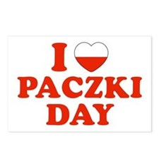 I Heart Paczki Day Postcards (Package of 8)