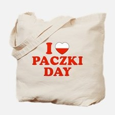 I Heart Paczki Day Tote Bag
