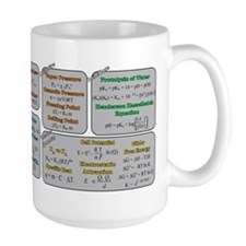 Chemistry Study Tables Ceramic Mugs