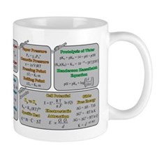 Chemistry Study Tables Mug Mugs