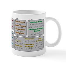 Chemistry Study Tables Small Mug