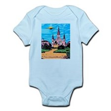 New Orleans is UFO Country #1 Infant Bodysuit