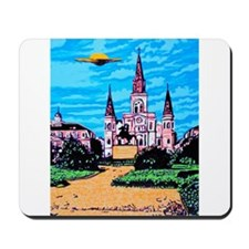 New Orleans is UFO Country #1 Mousepad