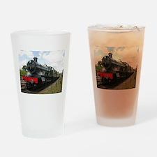 railway train Drinking Glass