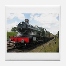railway train Tile Coaster