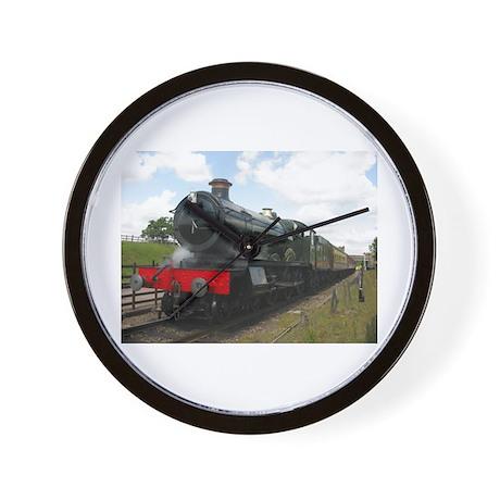 railway train Wall Clock